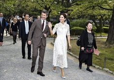 Japan visit of Princess Mary and Prince Frederik