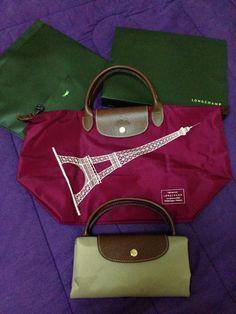 Limited Portable Longchamp Le Pliage Love Bags Royalblue