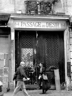 passage du Désir - Paris 10e