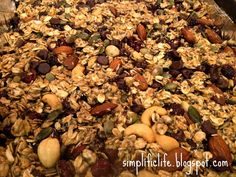 The Simple Life: Healthy Homemade Granola