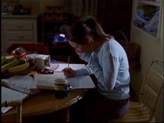 No one studies quite like Rory Gilmore.