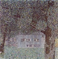 Farmhouse in Upper Austria - Gustav Klimt, 1911-2