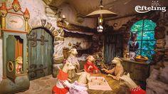 Sprookjesbos Wallpaper van de Wolf en de Zeven Geitjes in de Efteling