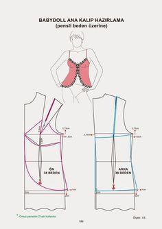 Underwear patterns book - modelist kitapları