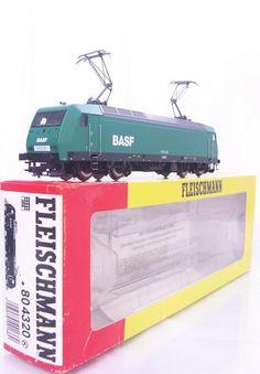 #FLEISCHMANN 804320 - #HOGAUGE - #GERMAN #BASF LIVERY CLASS BR 145 E-LOK - DCC READY