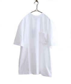 ES:S ラウンドネックビッグTシャツ(WHITE) - FLORAISON