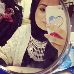 Hijab Hills <3 her! Gorgeous Afghan necklace