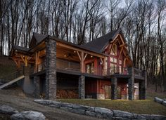 Timber Frame Homes | The Marshal | Timberbuilt
