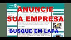 Anuncie agora, acesse:  www.busqueemlapa.com/anuciar.php