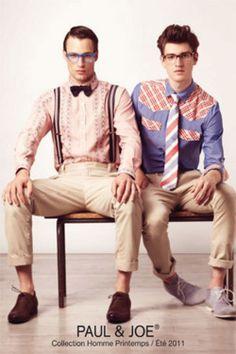 Dress Dapper and Get a Pic ~ Paul & Joe.