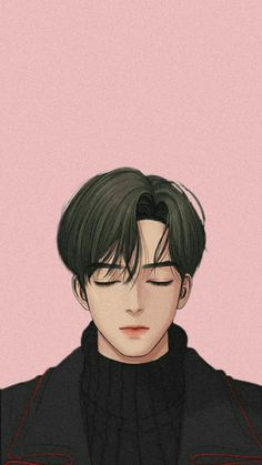 Suho from Secret Angel Webtoon Handsome Anime Guys, Cute Anime Guys, Hot Anime Boy, Anime Art Girl, Aesthetic Anime, Aesthetic Art, Angel Wallpaper, Chica Anime Manga, Webtoon Comics