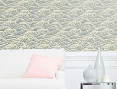 Removable wall paper sections