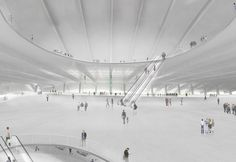 Japanese architect Junya Ishigami has just been announced the winner of the Port of Kinmen Passenger Service Center Competition. Japanese Architecture, Architecture Drawings, Amazing Architecture, Architecture Design, Built Environment, Presentation Design, Architectural Presentation, Modern Buildings, Competition