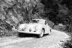 Porsche 356 rally cars old photos. - Page : 31 - Histoires du sport automobile - FORUM Sport Auto Old Sports Cars, Old Race Cars, Porsche Sports Car, Porsche Cars, Carrera, Porsche 356 Outlaw, Classic Cars, Porsche Classic, Ferdinand Porsche
