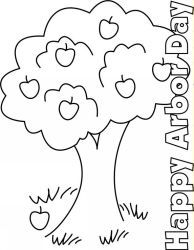 arbor day coloring pages | Here are 3 Printable Arbor Day Coloring Pages that you can download ...