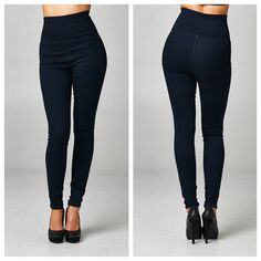 Ladies... a jewel has been discovered! These pants have the waist of yoga pants…