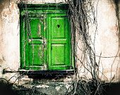 Forgotten green door