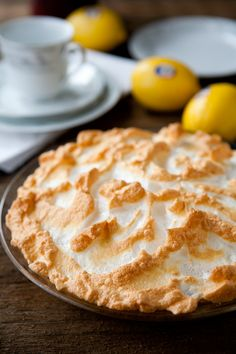 My grandmother used to make the best lemon meringue pies....it is something I really want to learn to bake