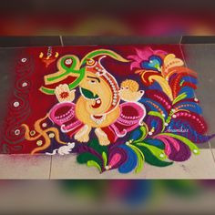 Best Rangoli Design, Rangoli Designs Latest, Rangoli Designs Flower, Rangoli Ideas, Colorful Rangoli Designs, Rangoli Designs Images, Beautiful Rangoli Designs, Easy Diwali Rangoli, Rangoli Designs Diwali