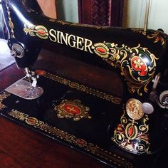 Singer red eye sewing machine