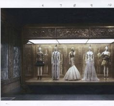 Alexander McQueen : [installation photographs, wall text] savage beauty. 2011.Metropolitan Museum of Art (New York, N.Y.). Costume Institute. Costume Institute Exhibition Binders. #alexandermcqueen #exhibition #fashion #dresses