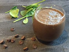 Thick, creamy, and oh-so-kid friendly, this chocolate spinach smoothie is packed with healthy ingredients both big and little kids love!