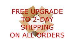 FREE Upgrade to 2-Day shipping on www.mancavekingdom.com