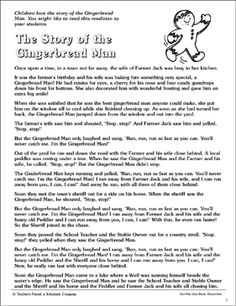 Students will enjoy reading this fictional piece about the Gingerbread Man, participating in the related activities, and making gingerbread ornaments. Gingerbread Man Story, Gingerbread Man Crafts, Gingerbread Ornaments, Christmas Tale, All Things Christmas, Christmas Decor, Storybook Online, Accelerated Reader, Short Stories For Kids