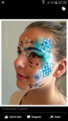 - Famous Last Words Face Painting Flowers, Girl Face Painting, Face Painting Designs, Fantasy Make Up, Festival Makeup, Face Design, Mermaid Hair, Creative Makeup, Artistic Make Up
