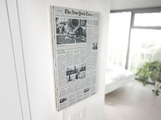 This Super-Clean Smart Screen Puts a Newspaper on Your Wall E Paper Display, Morning Papers, Mix Concrete, Portland Cement, Seamless Transition, Smart Home Technology, Acrylic Sheets, Print Layout, Super Clean