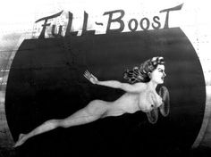 Full Boost - Nose art before PC was a thing
