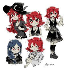 Chariot little witch academia Lwa Anime, Anime Chibi, Anime Art, My Little Witch Academia, Anime Witch, Little Witch Academy, Netflix Anime, Cute Art Styles, Human Art
