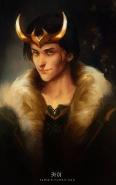 Loki Agent of Asgard! by Kaihart on Tumblr