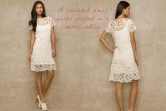 Ralph Lauren Gets The Short White Dress Right