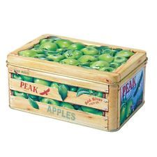 The Silver Crane Company Tins SC110345 Small Fruit Crate Apples