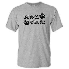 Papa Bear Paw T-Shirt