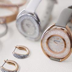 True Elegance is timeless. Discover our Crystalline watches #Swarovski - Shop now for swarovski > http://ift.tt/1Ja6lvu