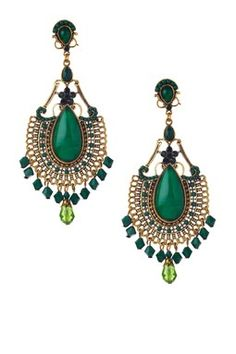 Monique Leshman Mejella Chandelier Earrings