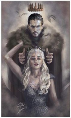Game of thrones- Dani and Jon Snow
