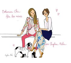 Fashion mums for mother 's day by Angéline Mélin