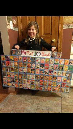 100 days of school class project idea. 100 Day Project Ideas, 100 Day Of School Project, School Projects, Prep School, 100 Days Of School, School Holidays, Elementary Library, Elementary Schools, School Picture Frames