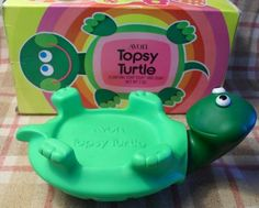 Avon topsy turtle soap holder