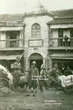 Nanjing, Accomodation with Chinese soldiers | Photograph taken in 1933 by Karl Theodor Martin. Martin was a German military adviser to the Chinese National Government under Chiang Kai-shek. For further information about him, check the set 'China, German Military Adviser'.