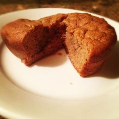 (S) From Pudgy to Paleo: Apple Cinnamon Muffins. Replace agave with stevia (plus a smidge of liquid)