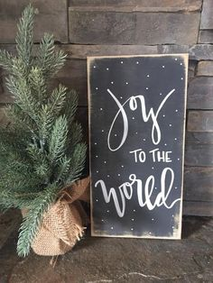 These cute mini Christmas signs are unique no two identical. Each sign is custom made to order, hand painted not stenciled, sealed with a clear topcoat. 50 Diy Christmas Gifts, Christmas Wood Crafts, Merry Christmas Sign, Christmas Chalkboard, Christmas Signs Wood, Holiday Signs, Rustic Christmas, Christmas Art, Christmas Projects