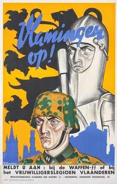 Germany WWII ..Vlamingen op!//.,MAR16