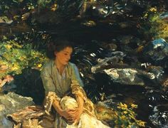 John Singer Sargent's The Black Brook