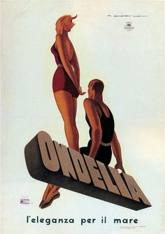 Marcello Dudovich. Ondelia. 1933 by kitchener.lord, via Flickr