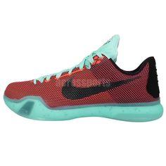 b92b8d717a500 Nike Kobe X 10 EP Kobe Bryant Hot Lava Sunset Mens Basketball Shoes LA  Lakers