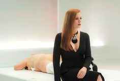 """Sept. 2016 - Amy Adams in Tom Ford's latest movie, 'Nocturnal Animals' wins raves - Ford, the dual tastemaker shows at New York Fashion Week, yet says """"Americans have turned off of fashion"""" and claims """"not an hour goes by that I don't think about death."""""""